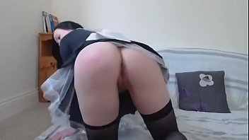 gets hot caught french fucking maid Cheating asian massage