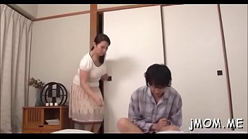 asian cutie dude punished a by gets Sexy brunette gets her clients dick hard during erotic massage