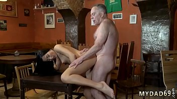 old bert young Dad rough anal