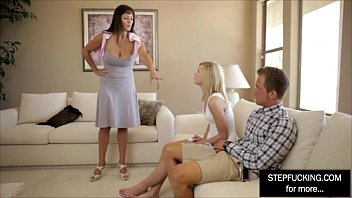 and friend daughter step All lestian threesome