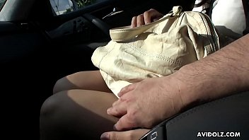 finger the on brunette public in side of amateur road fucked Round ass bubble
